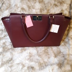 NWT Kate Spade Orchard Valley Kelsey Leather Bag